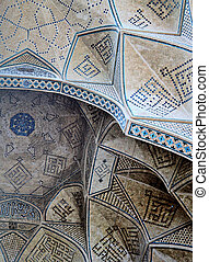 islamic persian mosaic ceiling