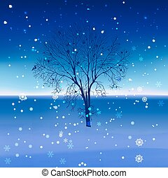 Snow landscape