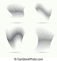 The dynamic object. - The dynamic object curved waves....