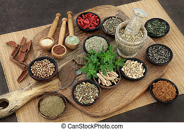 Herbs and Spices for Mens Health - Herb and spice health...