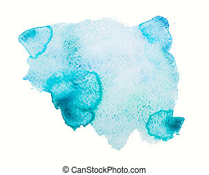 Watercolor texture, background, blots - watercolor blot,...