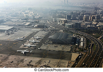 Dubai International Airport - Dubai, United Arab Emirates -...