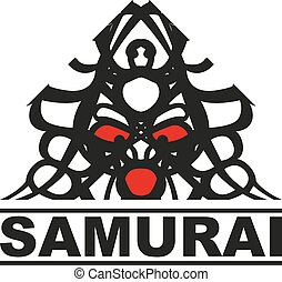 Samurai logo - logo with a graphic image of a Japanese...
