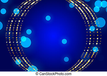 blue abstract background, particle and form - blue abstract...