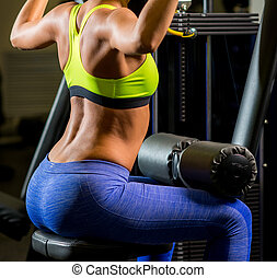 fitness woman lifting weight