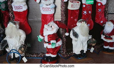 Christmas home decorations - Beautiful holdiay decorated...