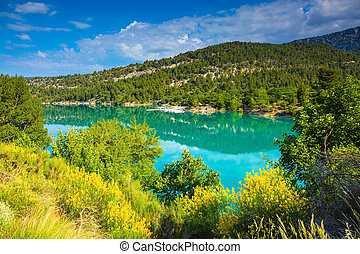 The mountain canyon in Europe - Verdon - The biggest...