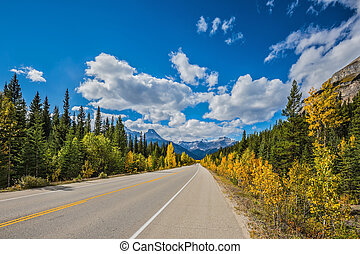 Excellent highway - Great Banff Travel to the Bow River...
