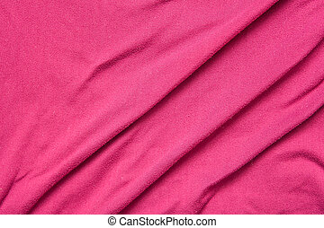 purple fabric background with pleats