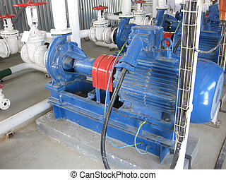 Pumps for water Equipment for primary oil refining
