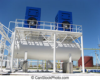 water cooling tower Equipment for primary oil refining