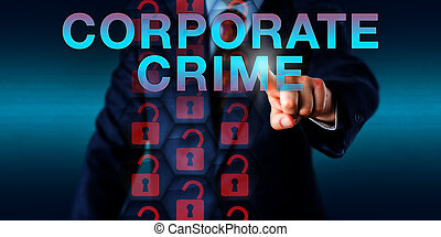 Professional Pushing CORPORATE CRIME
