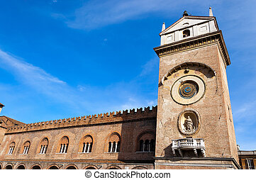 Palace of Reason - Mantova Italy - The medieval Palace of...