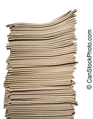 Documents - There are a lot of documents placed one on other
