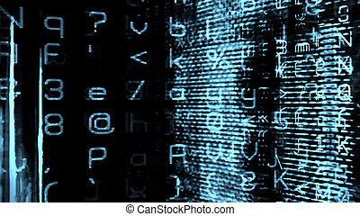 Futuristic Digital Tech Display 10758 - Futuristic digital...