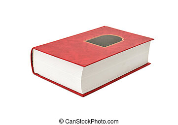 book - book isolated on a white background...