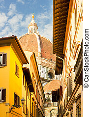 street in old town, Florence, Italy