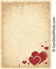 Vintage Valentine's Background