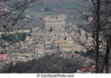 Soriano nel Cimino overview - Soriano nel Cimino ancient...