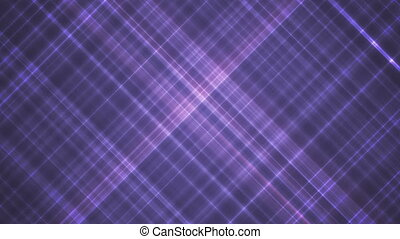 Broadcast Intersecting Hi-Tech Slant Lines, Purple, Abstract, Loopable, HD