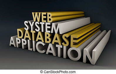 Web Application System - Web Application Database System in...