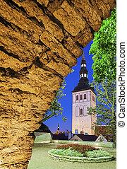 St. Nicholas Church in Tallin - St. Nicholas Church and City...