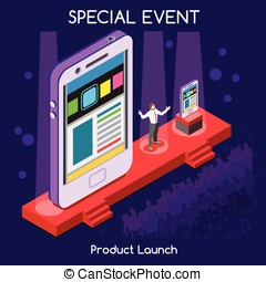 Special Event People Isometric - Special Event International...
