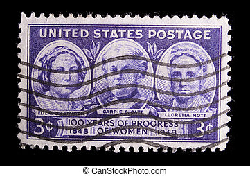 Vintage US commemorative postage stamps - UNITED STATES -...