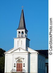 Vintage Church Building - A close up view of a vintage...