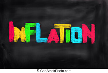 InflationDeflation Concept