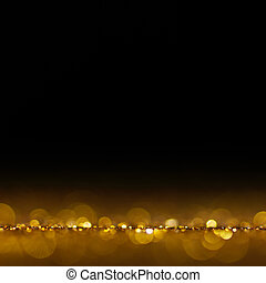 背景, 聖誕節, 金, 喜慶