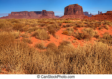 Arizona Monument Valley - Monument Valley Arizona site of...