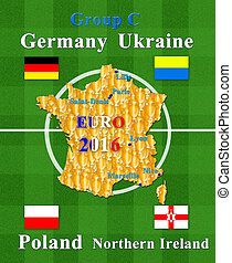 EURO 2016 group C - football championship EURO 2016 in...