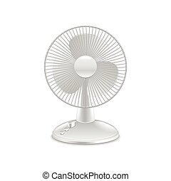 Fan isolated on white vector - Fan isolated on white...
