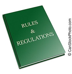 Generic Rules and Regulations book - An illustration of a...