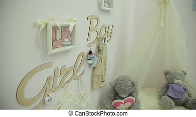 Colorful Childrens Room - Interior of modern childrens room...