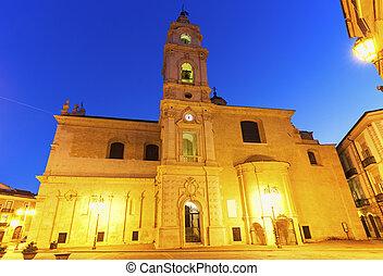 Cattedrale di Santa Maria in Foggia. Foggia, Apulia, Italy