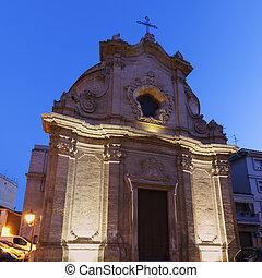 Chiesa dell'Addolorata in the center of Foggia. Foggia,...