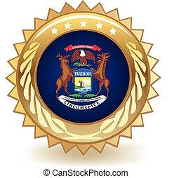 Michigan Badge