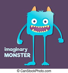 Cute Furry Imaginary Monster