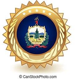 Vermont Badge