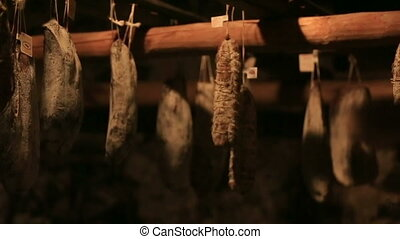 Sausage in the Basement product storage - Sausage in the...