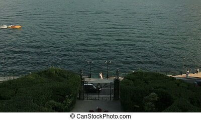 Lake Como Italy Just Married on the Waterfront - Lake Como...