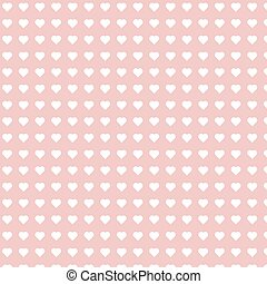 Repeatable Heart Pattern, Rose Valentine Heart Background -...