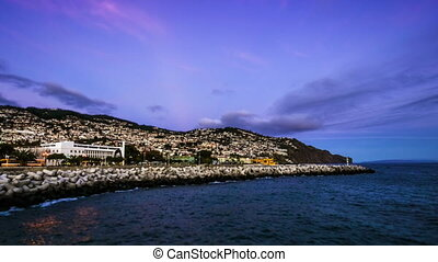 Sunset over Funchal