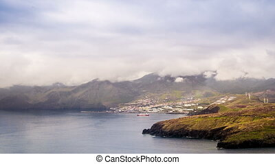 Canical, Madeira - Canical, view from Ponta de Sao Lourenco,...
