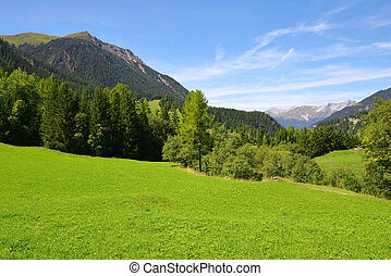 Canton Graubunden, Switzerland - Beautiful Alpine landscape...