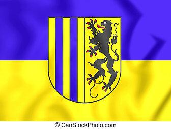 Flag of Chemnitz Saxony, Germany - 3D Flag of Chemnitz...