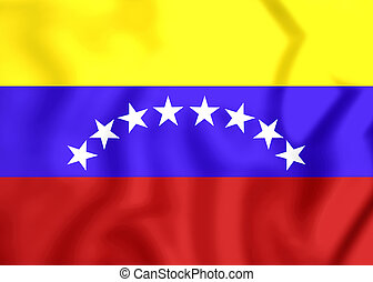 Civil Ensign of Venezuela - 3D Civil Ensign of Venezuela...