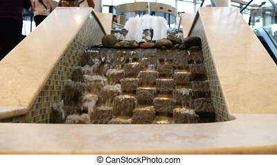 Water decoration of trade center - Decoration of trade...